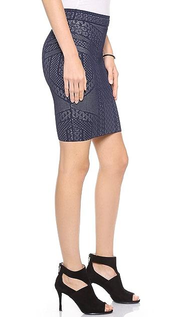 BCBGMAXAZRIA Josa Pencil Skirt