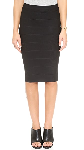 BCBGMAXAZRIA Leger Pencil Skirt