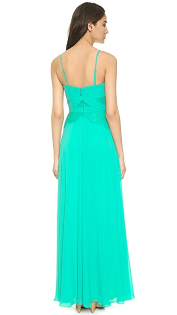 BCBGMAXAZRIA Lacey Gown
