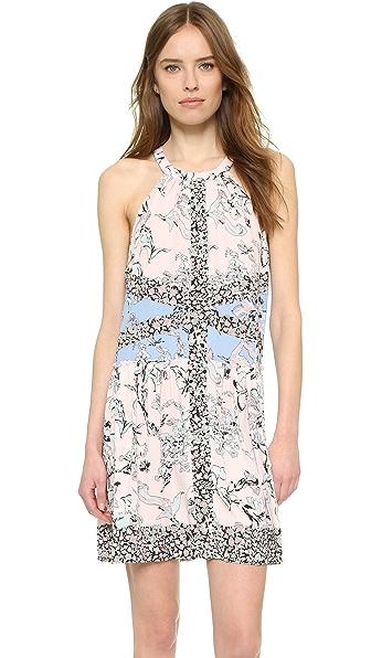 Bcbgmaxazria Sharlot Dress - Dusty Rose Multi at Shopbop