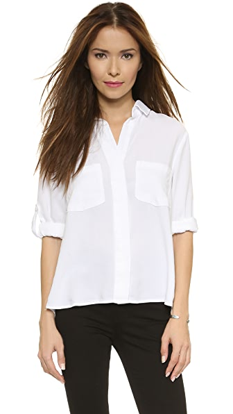 Bella Dahl Split Back Button Down