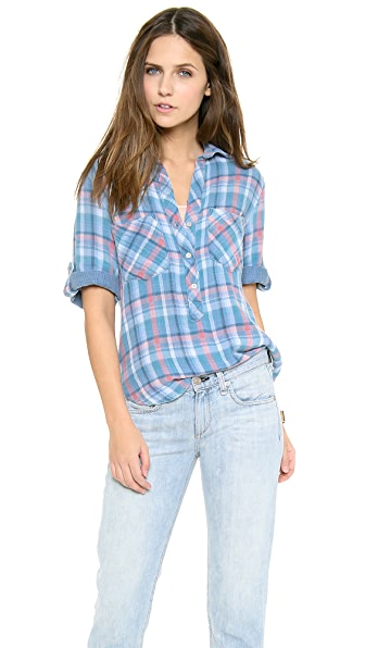 Bella Dahl Pullover Placket Shirt
