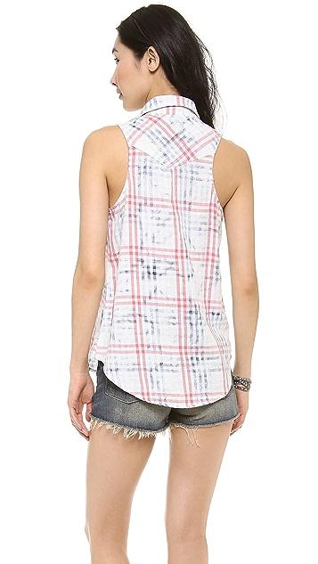 Bella Dahl Sleeveless Western Shirt