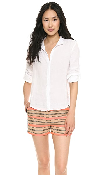 Bella Dahl Capri Button Down Shirt