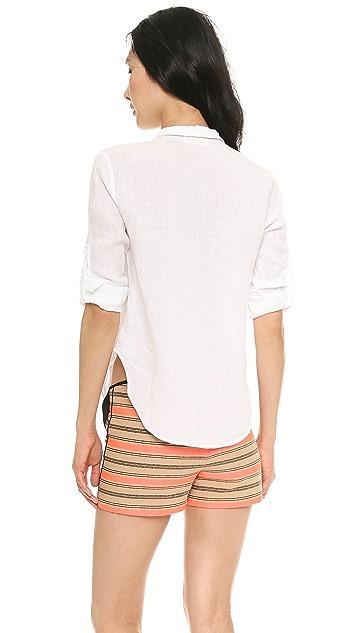 Bella Dahl Capri Button Down Shirt