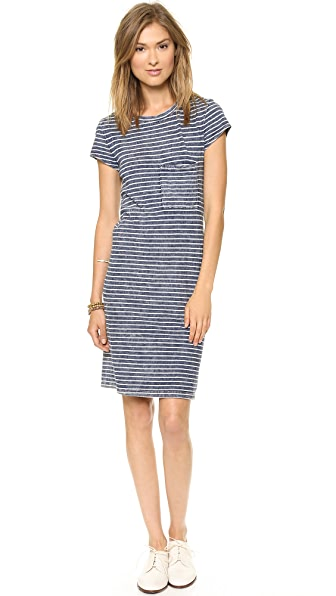Bella Dahl T-Shirt Dress with Pocket