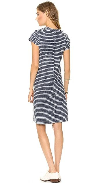 Bella Dahl T-Shirt Dress with Pocket