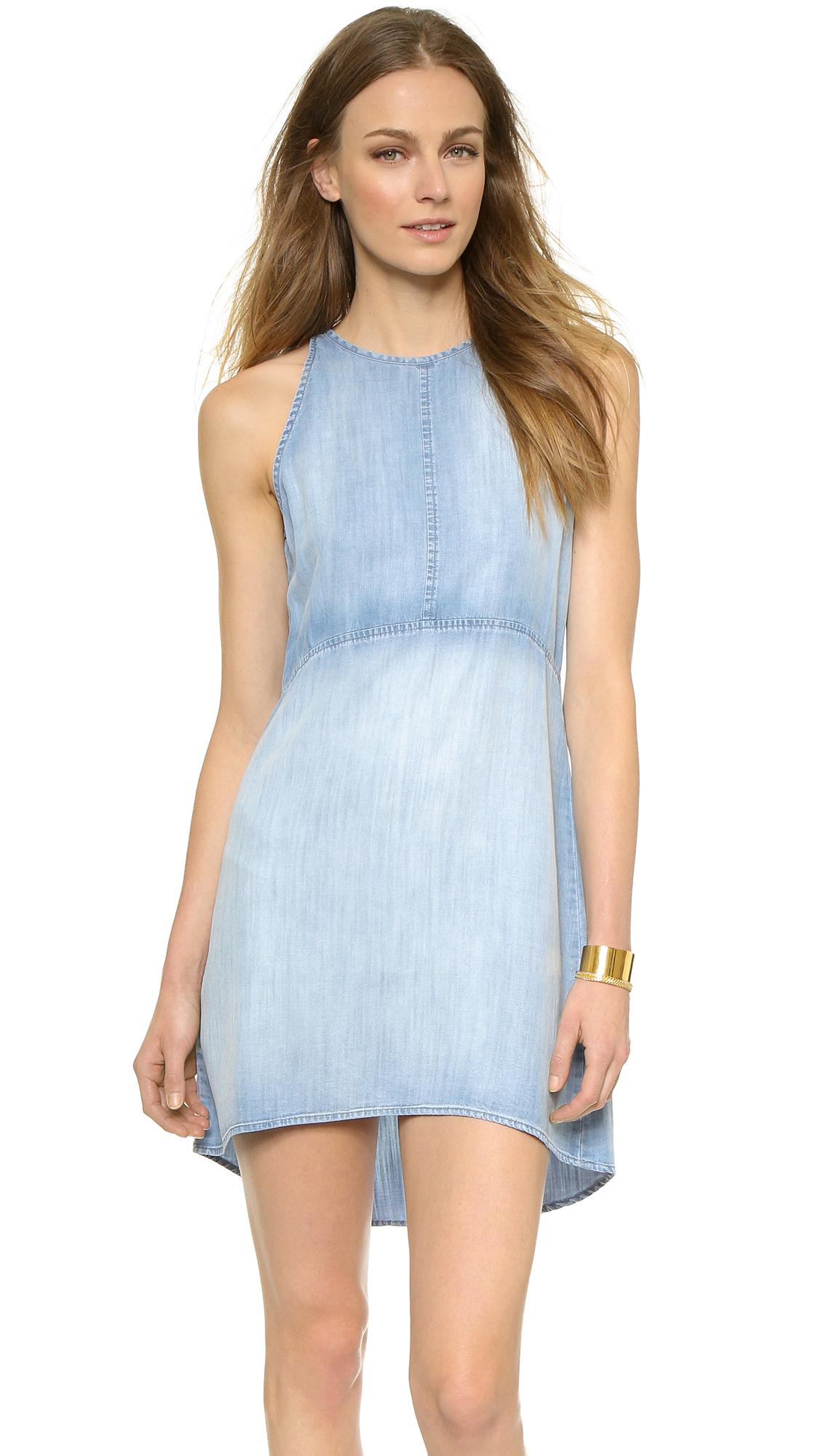 Bella Dahl Open Back Halter Dress | SHOPBOP