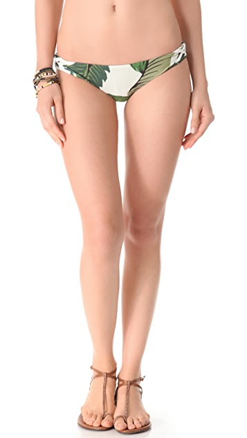 Beach Riot Stone Cold Fox Basil Bikini Bottoms