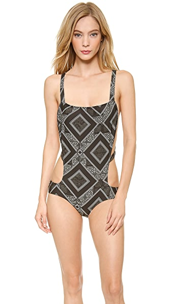 Beach Riot The Night Rider One Piece Swimsuit
