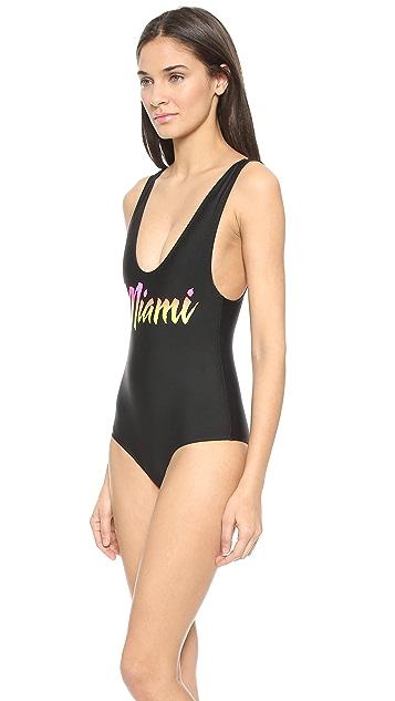 Beach Riot Miami MV One Piece Swimsuit