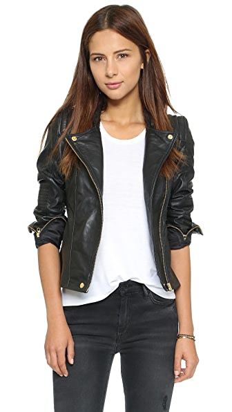 Beach Riot Adios Leather Jacket