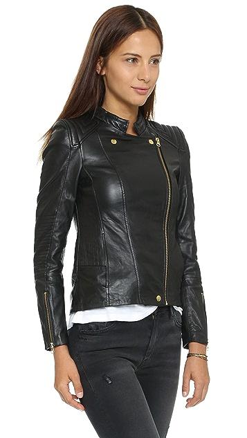 Beach Riot Adios Leather Jacket