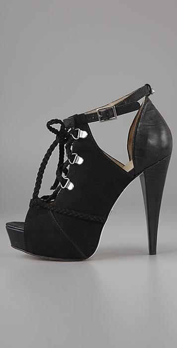 BE & D Voight Platform Sandals