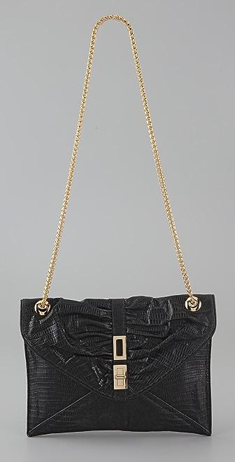 BE & D Stamped Tenley Shoulder Bag