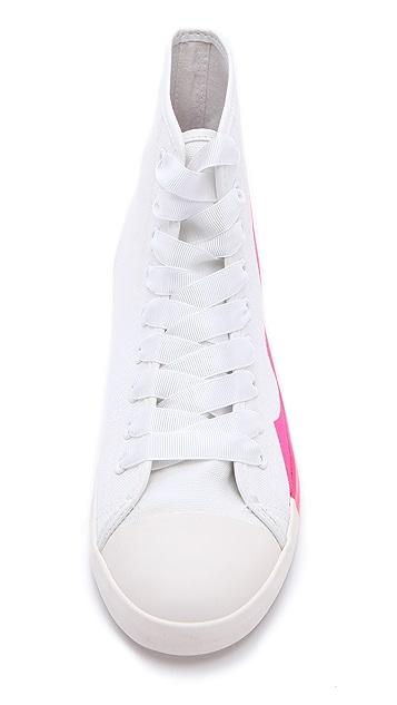 BE & D Brightlight High Top Sneakers
