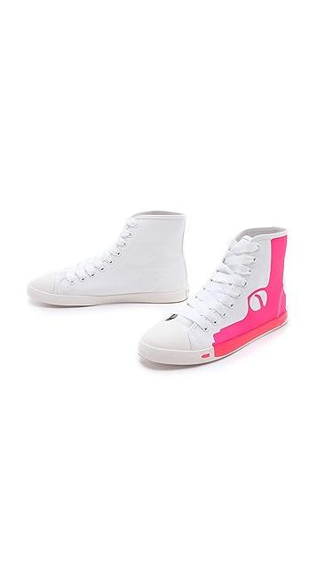 BE & D Pistol High Top Sneakers