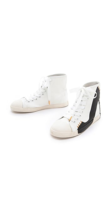 BE & D Big City Punk Platform Sneakers