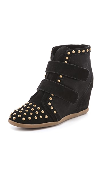 BE & D Hey Stud Wedge Sneakers