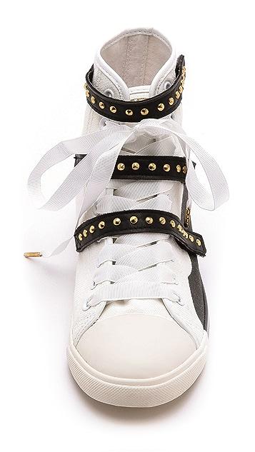 BE & D Maison Dumain 3 Straps Sneakers