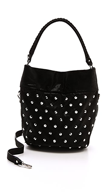 BE & D Caily Fold Over Hobo Bag