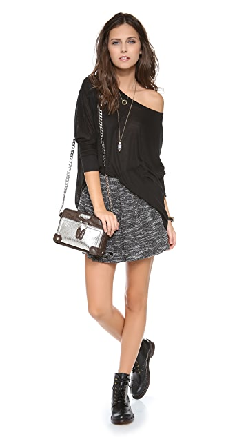BE & D Paige Shoulder Bag