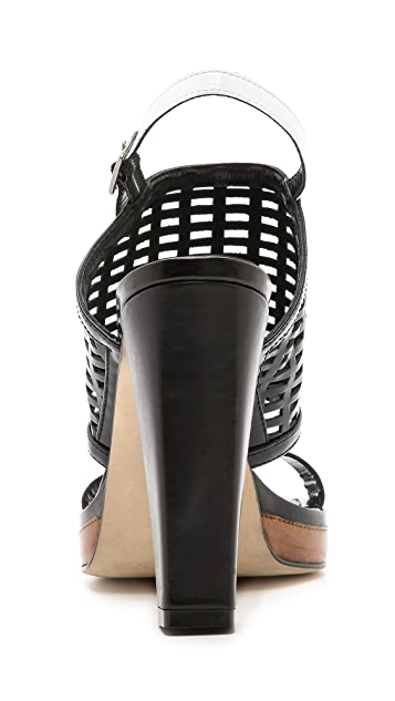 Beau Coops Pipz Chunky Heel Sandals