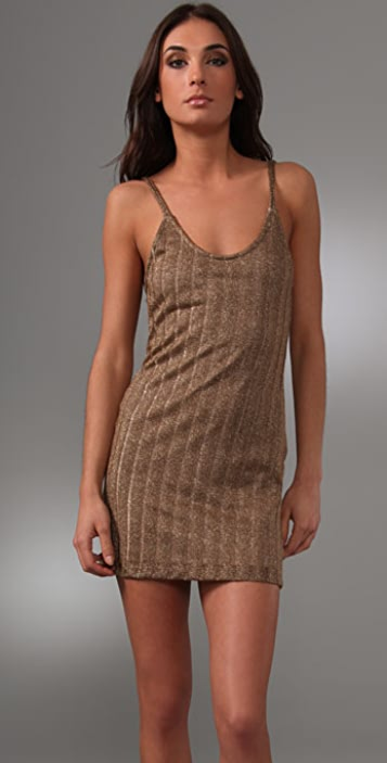 Bec & Bridge Dune Metallic Slip Dress