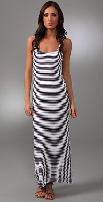 Bec & Bridge Escape Striped Long Dress