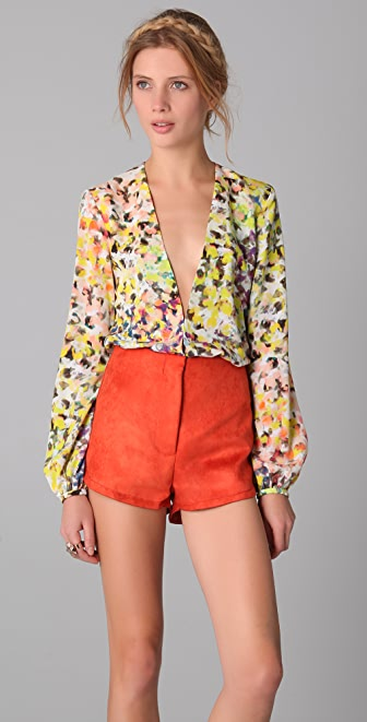 Bec & Bridge Dalia Plunge Shirt