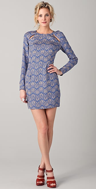 Bec & Bridge Amazonia Long Sleeve Dress