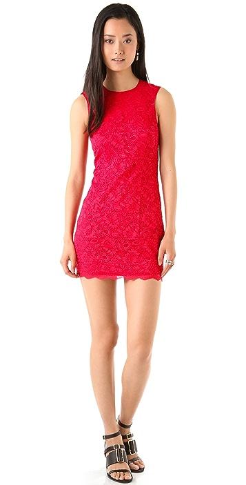 Bec & Bridge Lace Backless Dress