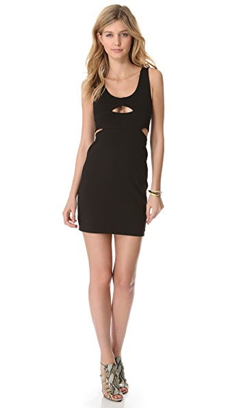 Bec & Bridge Seville Cut Out Mini Dress