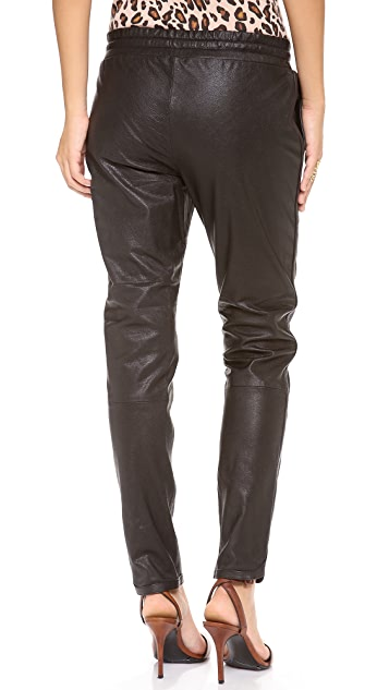Bec & Bridge Leather Pants