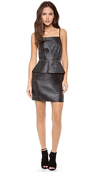 Bec & Bridge Pop Peplum Dress