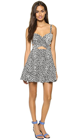 Bec & Bridge Snow Leopard Dress
