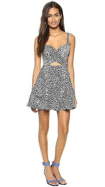 Bec & Bridge Snow Leopard Dress