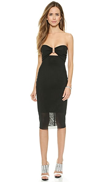 Bec & Bridge Paradise City Strapless Dress