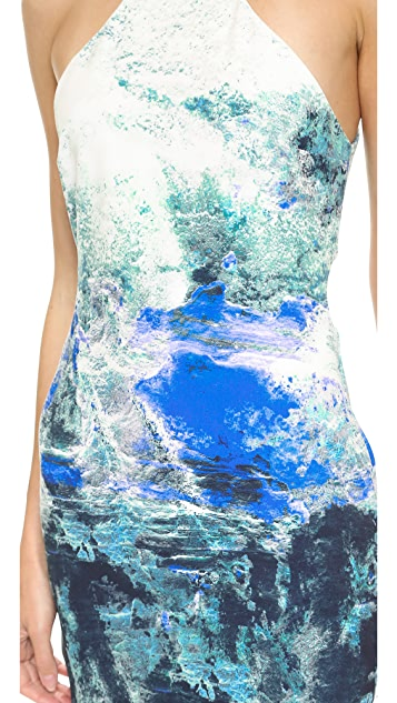 Bec & Bridge Fire & Ice Backless Dress