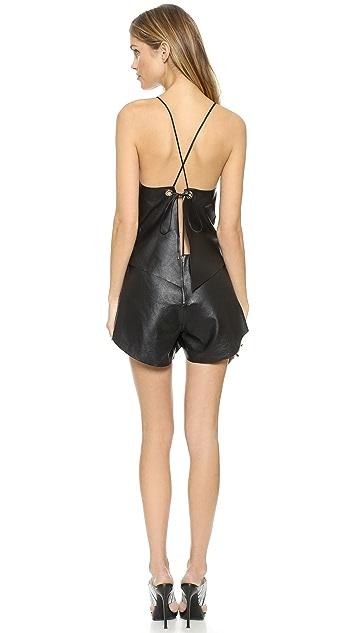 Bec & Bridge Vagabond Leather Romper