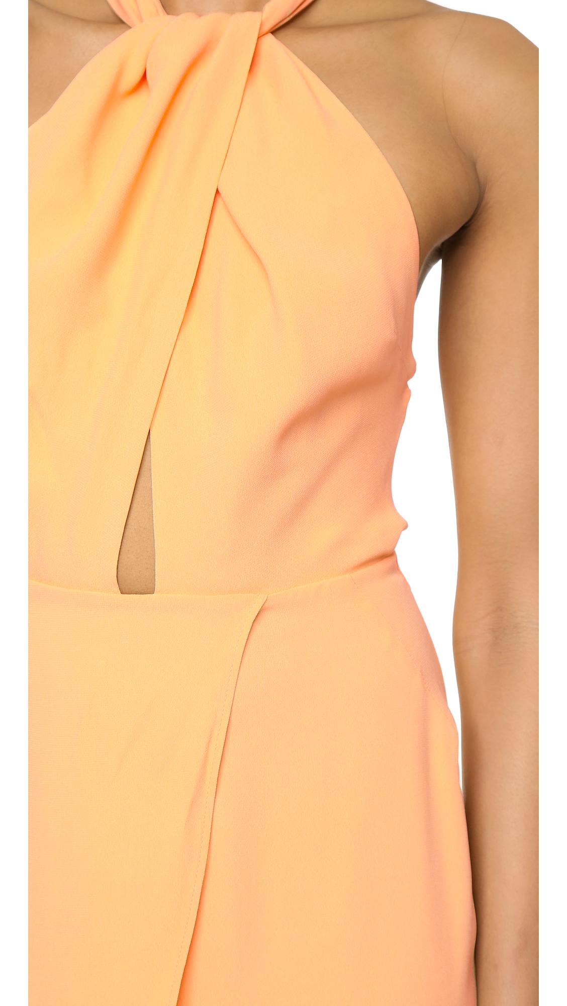 Bec and bridge yellow dress.