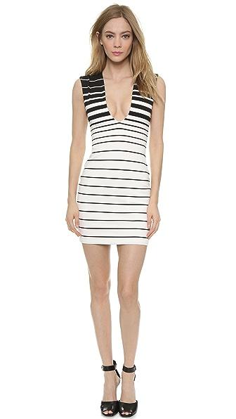 Bec & Bridge Reversible Stripe V Snake Charmer Dress