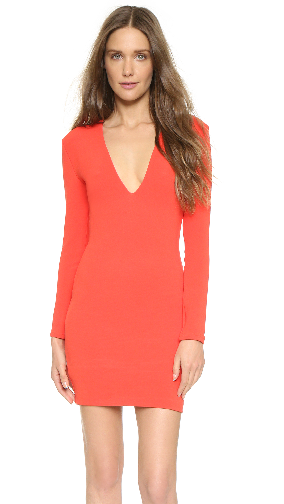 cbabe22bdf32 Bec & Bridge Long Sleeve Reversible Mini Dress | SHOPBOP