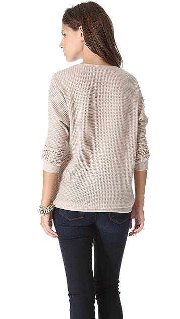 Bella Luxx Waffle Dolman Sweater