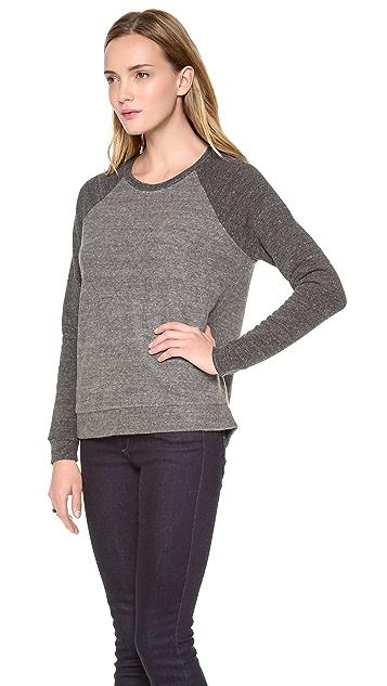 Bella Luxx High Low Crew Neck Sweater