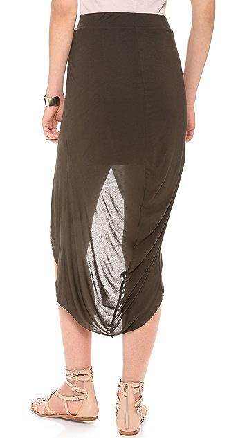 Bella Luxx Gathered Back Tulip Skirt