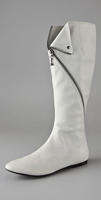 Belle by Sigerson Morrison Flat Zip Around Boots
