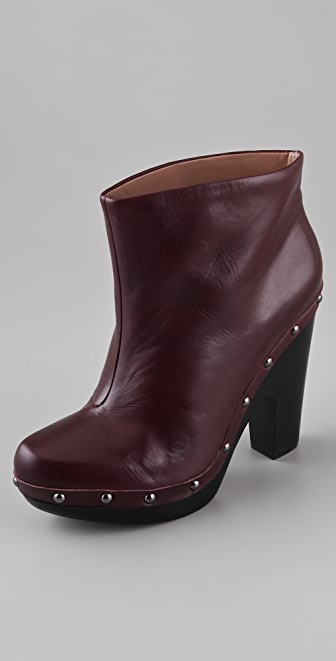 Belle by Sigerson Morrison Pull-On Clog Booties