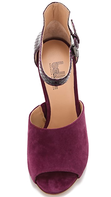 Belle by Sigerson Morrison Marilyn Choked Sandals