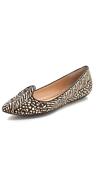 Belle by Sigerson Morrison Haircalf Lip Flats